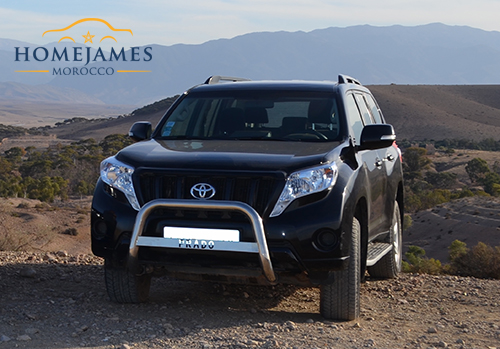Rent Toyota Land Cruiser Marrakech From HomeJamesMorocco.com